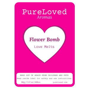 Flower Bomb Wax Melts - Love Melts by Pure Loved Aromas