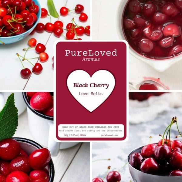 Wax Melts - Black Cherry - Pure Loved Aromas img 2