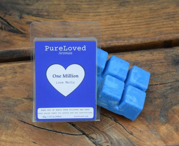 one million perfume wax melts Pure Loved Aromas