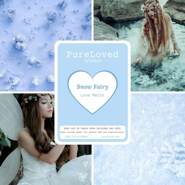wax melts snow fairy by pure loved aromas